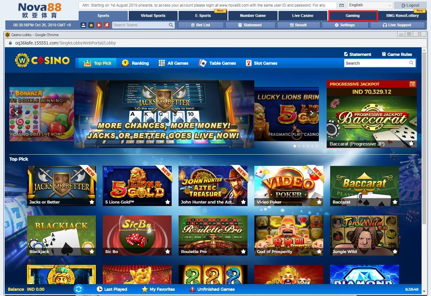 Daftar Permainan Slot Di Situs Nova88