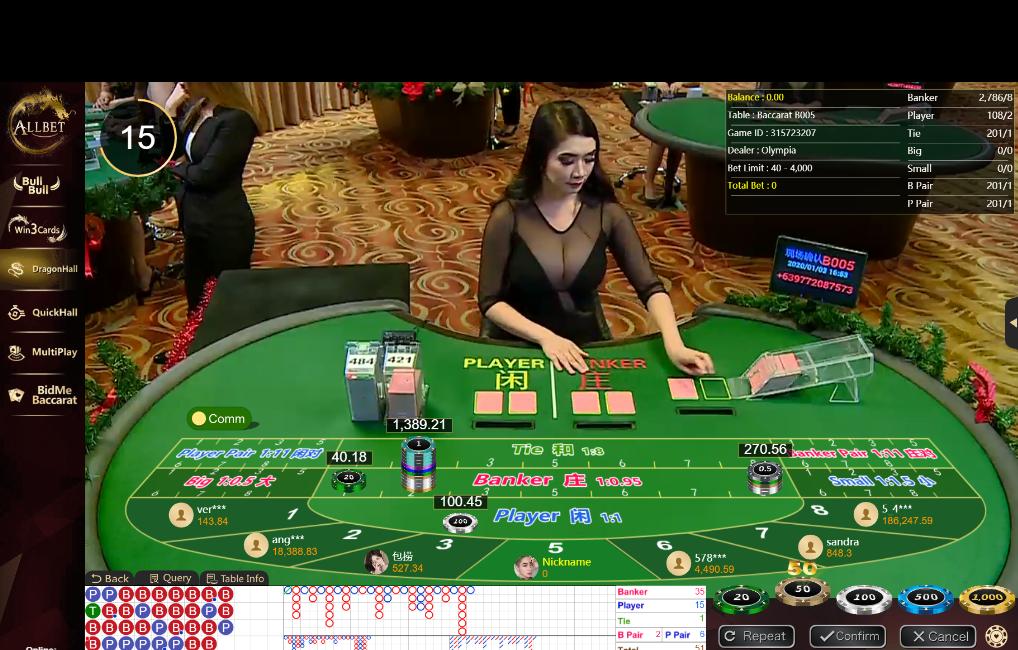 daftar permainan live casino nova88